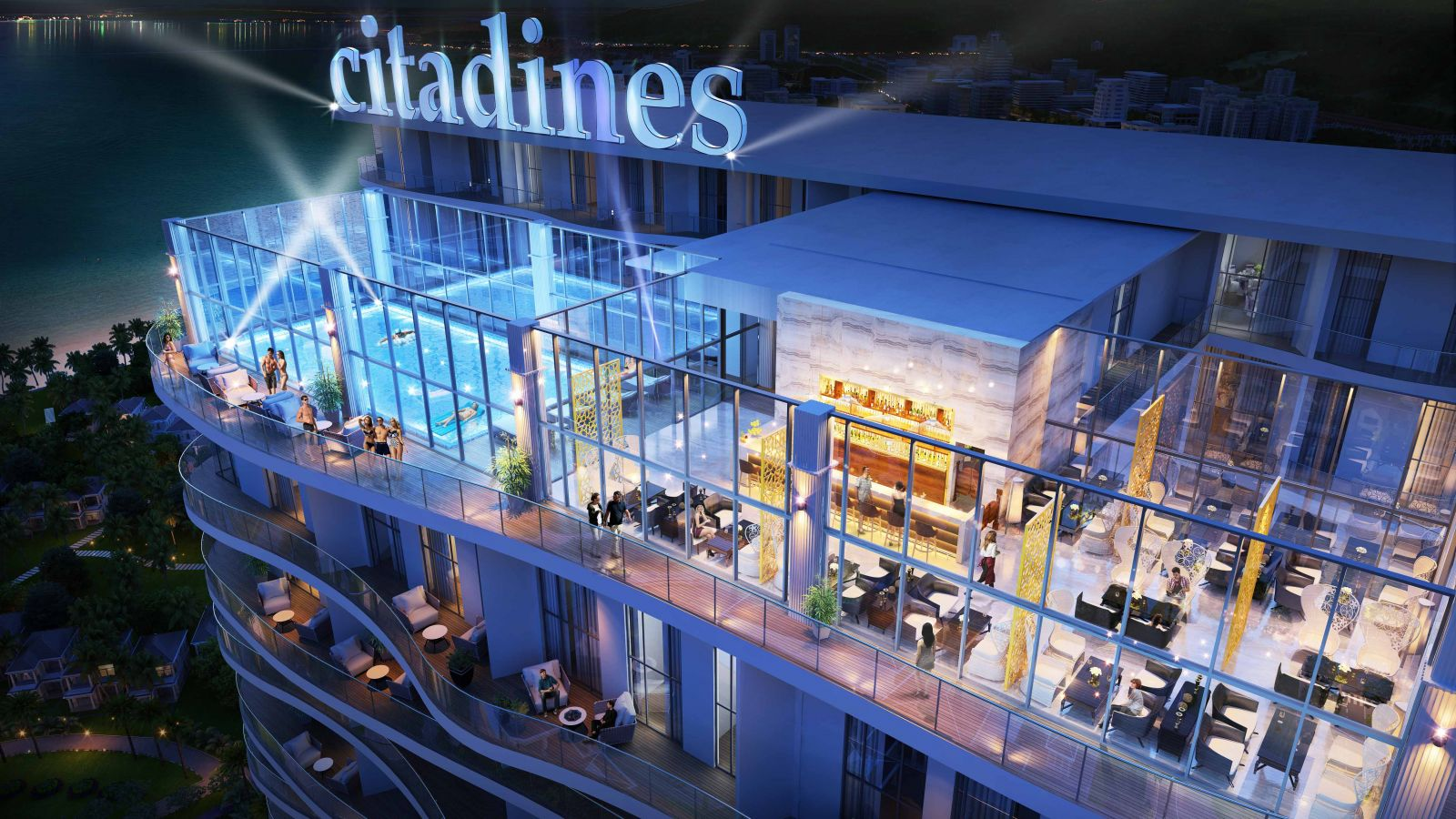 skybar citadines hạ long
